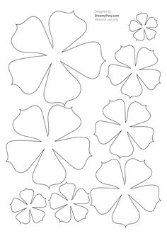 Good Images Paper Crafts templates Thoughts In search of new write concepts? Without making your home, you will discover printable paper crafts Big Paper Flowers, Paper Roses, Fabric Flowers, Paper Flowers Wall Decor, Paper Peonies, Paper Butterflies, Felt Flower Template, Paper Flower Tutorial, Flower Template Printable