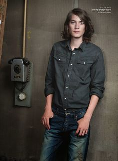 Male Model Otaku: Jaco Van Den Hoven: Kadewe - Das Magazine F/W13 Issue [Part 2]