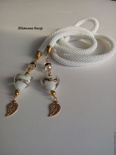 Bead Crochet Rope, Beaded Crochet, Rope Necklace, Beaded Necklace, Collar Redondo, Beading Tutorials, Beading Ideas, Beaded Flowers, Beaded Embroidery