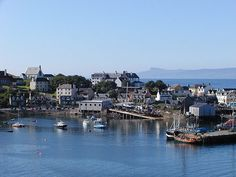 "Picturesque Mallaig, Scotland!  What a lovely little village.  We took the ""Harry Potter"" train to here."