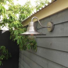 Elstead Sheldon Outdoor Wall Light - Antique Nickel