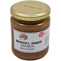 Mandelsmør crunchy glutenfri Ø 170 GR