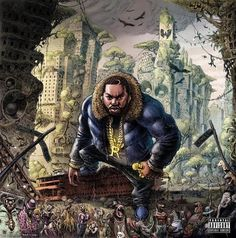 Raekwon The Wild Limited Edition Colored Vinyl LP 2017 album from the Wu Tang rapper. Raekwon the Chef returns with The Wild, his first full-length album Best Hip Hop, Pochette Album, Hip Hop Albums, Wu Tang Clan, Hip Hop Art, Lil Wayne, Music Albums, Rap Albums, Lp Vinyl