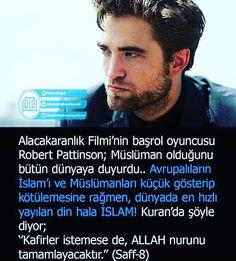 Maşallah 💓 Robert Pattinson, Allah, Batman, Wattpad, Words, God, Allah Islam, Horse