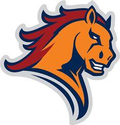 Mustang sport mascot vector art illustration