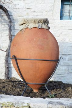 An amphora at Kabola Winery, Croatia