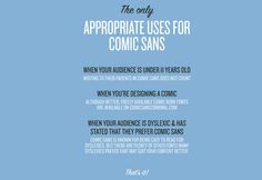 Comic Sans Is a Galactic Menace; Here's How We Can Kill It | Co.Design | business + design