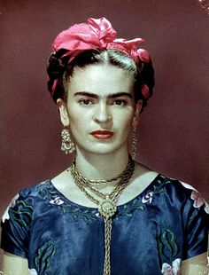 Frida Kahlo.  This one is my favorite of her.