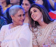 Jaya bachhan with daughter Shweta