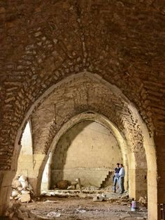 Descubren en Jerusalén parte de un gran hospital de la época de las Cruzadas - RTVE.es http://www.rtve.es/f/117635/ vía @Rtve