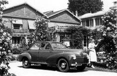 PEUGEOT 203 Cabriolimousine,1950                         #PEUGEOT #Classic #car #classiccars #fiftiesrock #Stil #AmericanWayofStyle #50s http://www.peugeot.de/historie/