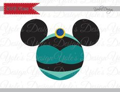Jasmine Princess Mickey Ears Disney Inspired Layered Cutting File in Svg, Eps, Dxf, and Jpeg Format for Cricut and Silhouette