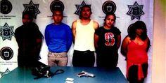 Detuvieron a 14 con armas y estupefacientes