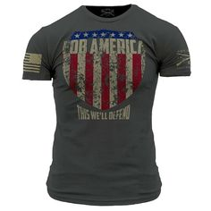 Shop Grunt Style - FOB America T-Shirt - GovX Exclusive deals at GovX! We offer exclusive government and military discounts. Register for free today!