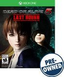 Dead or Alive 5: Last Round - PRE-Owned - Xbox One, Multi