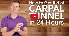 How to Get Rid of Carpal Tunnel in 24 Hours http://www.draxe.com #health #holistic #natural