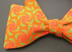 Funky Orange Self tie Bow Tie Orange Neck by IntleAfrikaFashion Tuxedo Accessories, Bow Tie Wedding, Tie Bow, Suit And Tie, Men's Fashion, Bows, Orange, Trending Outfits, Unique Jewelry