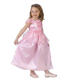 Look at this #zulilyfind! Pink Ruffle Princess Dress - Toddler & Girls by Fun World #zulilyfinds