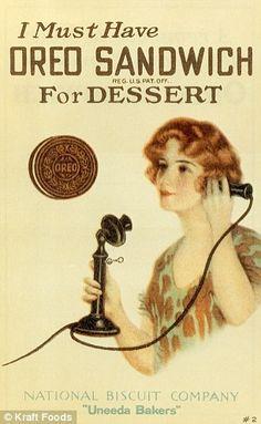 A 1920's ad for Oreos