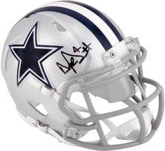 3179f8d4774 Dak Prescott Cowboys Signed Riddell Speed Mini Helmet - Fanatics #mini  #helmet #fanatics