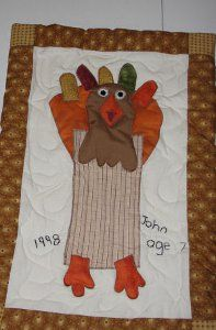 Preserve childhood memories with this Turkey Art Wall Hanging. Childhood passes so fast... hold onto a piece of it during the Thanksgiving holiday!