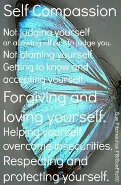 Self compassion | rePinned by CamerinRoss.com