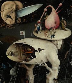 """The Garden of Earthly Delights"" (1490-1510) by Hieronymus Bosch"