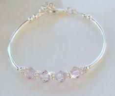 Swarovski Bracelet, Swarovski Jewelry, Crystal Jewelry, Beaded Jewelry, Swarovski Crystals, Jewelry Necklaces, Beaded Bracelets, Custom Jewelry, Handmade Jewelry