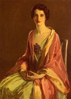 Miss Julia McGuire (Sir John Lavery, R.A. - 1910)