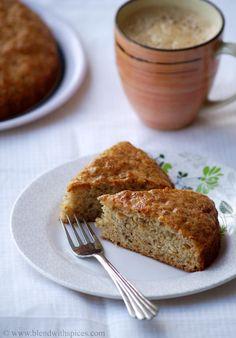 Eggless Banana Cake Recipe - Vegan Banana Cake Recipe - Step by Step Pictures | Indian Cuisine