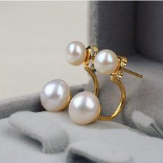 🎉Host Pick🎉 High Fashion Pearls High Quality Fashion Pearl Earrings   Any Questions Please Ask before Purchase No Paypal || No Trades || Posh Rules Only  Shipping:  Bundle and Save on Shipping Items are shipped within 24-48 hours of payment (Mon-Fri.)  Please Check Out my other listings for the best in brand new and gently used clothing, shoes and accessories. Happy Poshing!!! Lavish Couture Jewelry