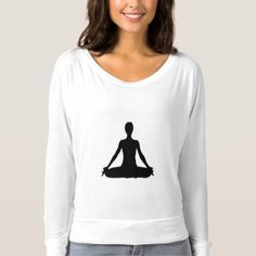 Meditation T-shirt - yoga health design namaste mind body spirit