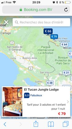 Vito, Costa Rica, Map, Cartago, Mouths, Woods, Buenos Aires, Parks, Places