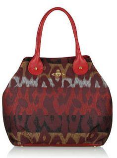 Vivienne Westwood Accessories Leopard Print Shopper