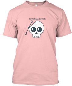 Seven As Seven Pale Pink T-Shirt Front