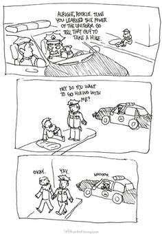 A Police Officer's True Power! #lol #law #comic