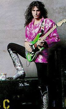 "Steve Vai in the 80""s"