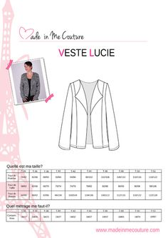 * veste lucie - made in me couture