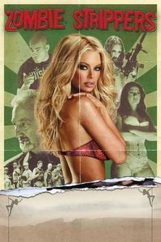 Zombie Strippers Movie Poster Standup 4inx6in