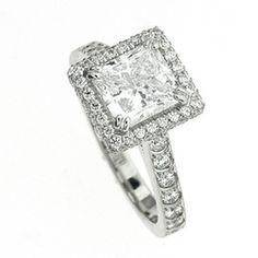 Harry Kotlar Platinum Diamond Ring at TWO by LONDON!