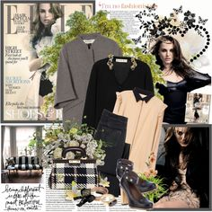 """Natalie Portman - Being different"" by amaryllis on Polyvore"