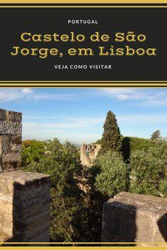 O Castelo de São Jorge é um dos principais pontos turísticos de Lisboa, em Portugal. Passeio lindo e imperdível. Veja os detalhes no deboanatrip.com