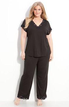 Natori 'Zen Floral' Pajamas (Plus Size) available at #Nordstrom