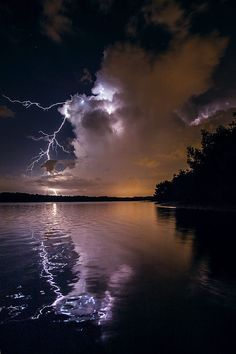 Bolts in the Backwaters Tampa Bay by Galen Burow on 500px