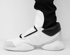 Adidas by Rick Owens Spring/Summer 2014 -- Love these!