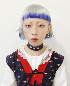 Character Inspiration, Hair Inspiration, Mullet Hairstyle, Asian Short Hair, Hair Reference, Funky Hairstyles, Aesthetic Hair, Hair Art, Hair Looks