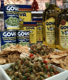 Goya de Puerto Rico - Recetas - Chef Rosita - Gandules enEscabeche