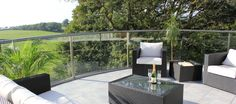 composite decking and glass balcony - Google Search