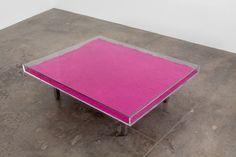 Yves Klein - Table Rose, 1963