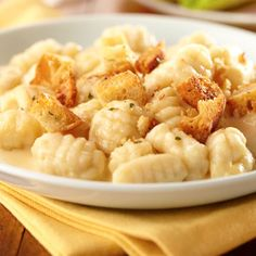 Substituting gnocchi for noodles makes a great new family dinner.